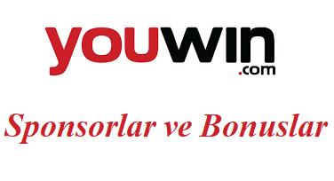 Youwin Sponsorlar ve Bonuslar
