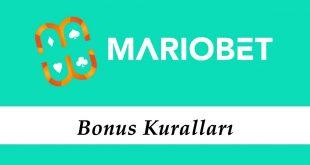 Mariobet Bonus Kuralları