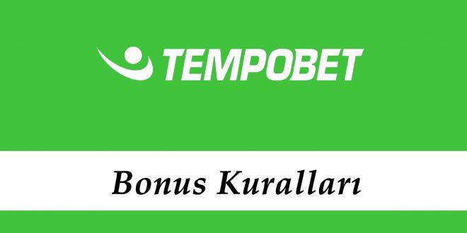 Tempobet Bonus Kuralları