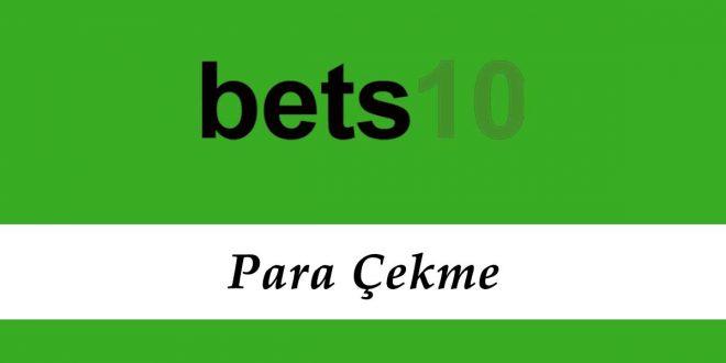 Bets10 Para Çekme